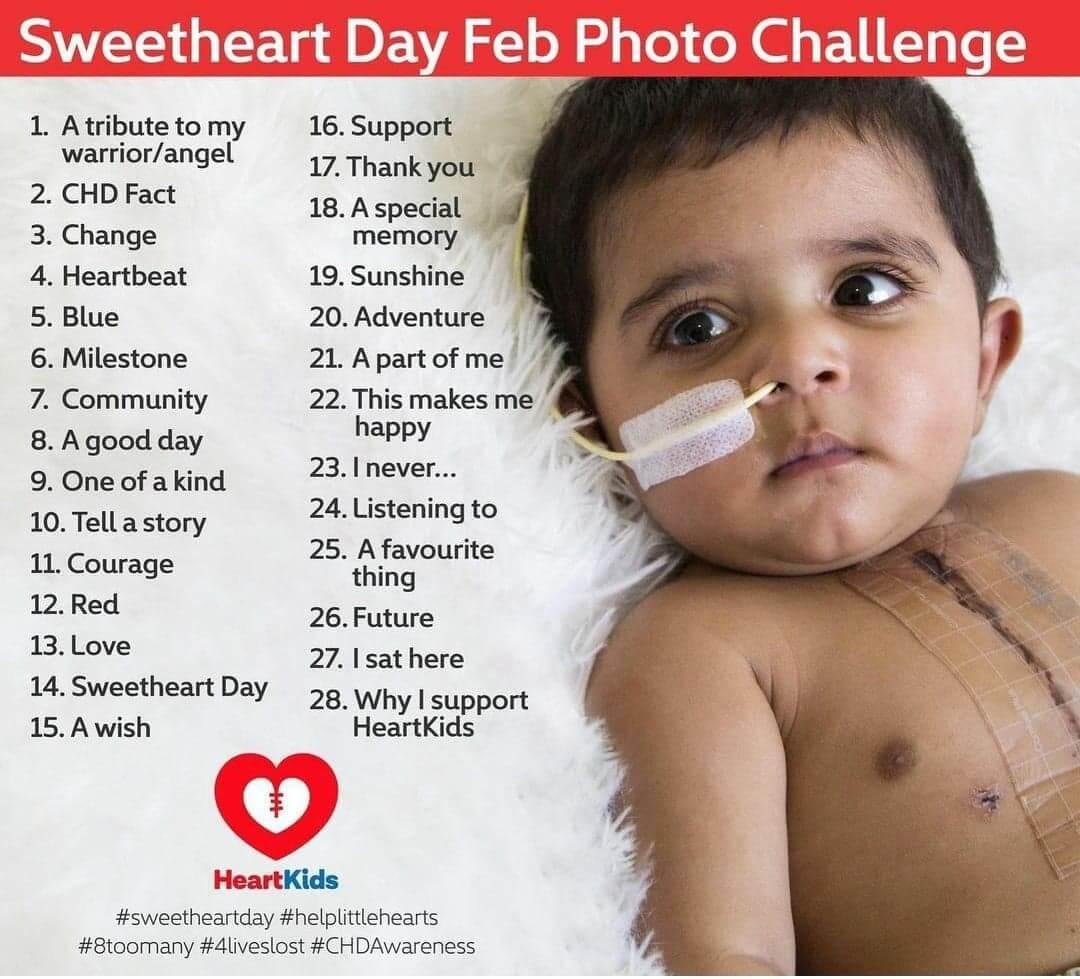 sweetheart day photo challenge