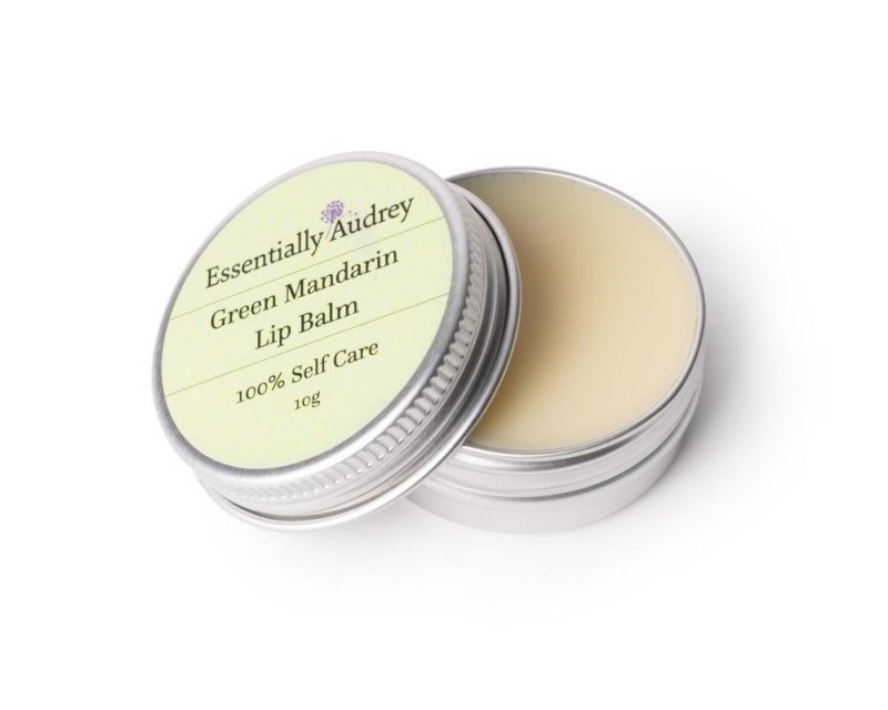 Green Mandarin Lip Balm Tin 1