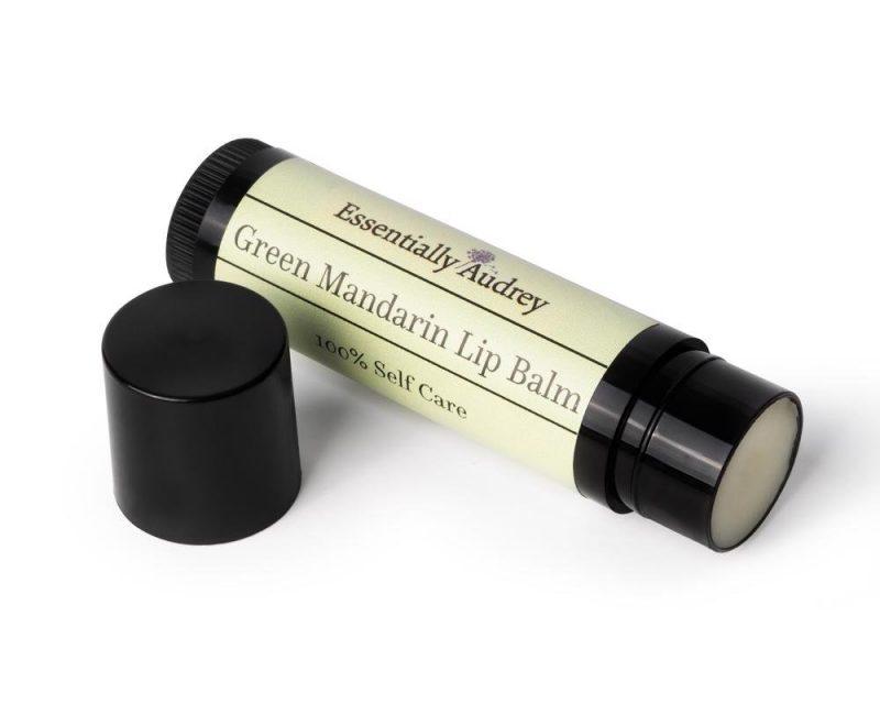 Green Mandarin Lip Balm Tube
