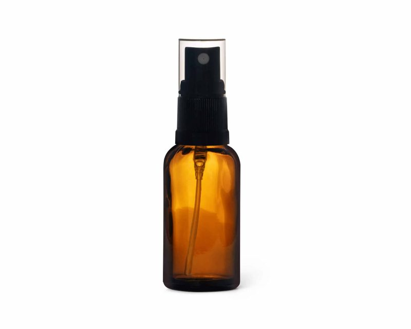 30ml Amber glass bottle with atomiser