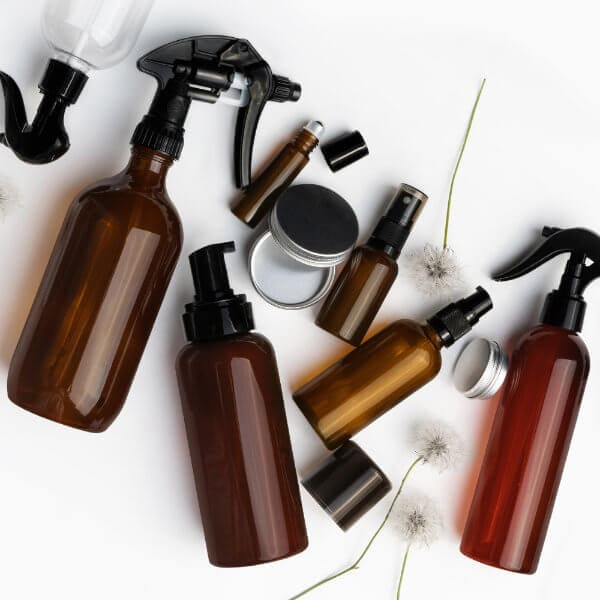 Bottles & Tins - Essentially Audrey Natural Home & Body Products Geelong