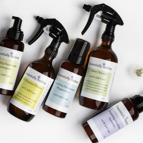 Cleaning & Handwash - Essentially Audrey Natural Home & Body Products Geelong