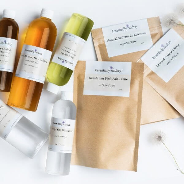 Raw Ingredients - Essentially Audrey Natural Home & Body Products Geelong